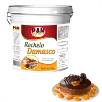 Recheio de Damasco Pan Mix 4,5Kg