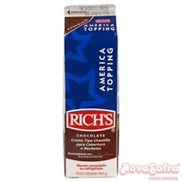 Chantilly Am�rica Topping Chocolate Richs 907 Gramas