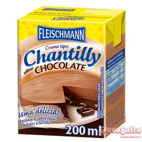 Chantilly de Chocolate Fleischmann 200 Ml