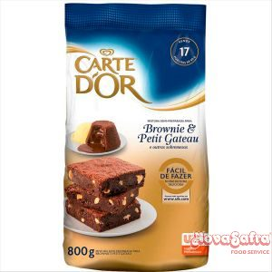 Brownie e Petit Gateau Carte D