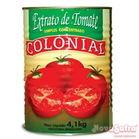 Extrato de Tomate Colonial 4,1Kg