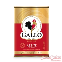 Azeite de Oliva Lata Gallo 200 Ml