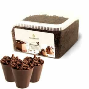Chocolate em Raspas Blossoms Chocolate ao Leite Callebaut 1 Kg