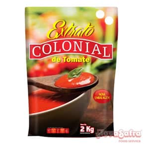 Extrato de Tomate Pouch Colonial 2 Kg