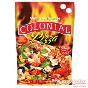 Molho para Pizza Pouch Colonial 2 kg