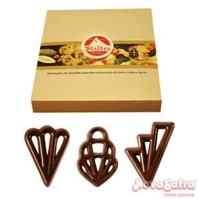 Chocolate Placa Amargo Filigran Mix 120 unidades