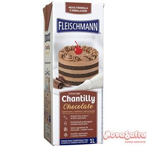 Chantilly de Chocolate Fleischmann 1 litro