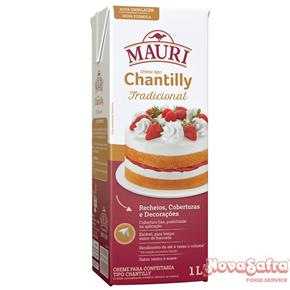 Chantilly Creme Mauri 1L