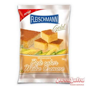 Mistura para Bolo Milho Cremoso Fleischmann 5 kg
