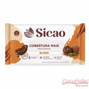 Cobertura de Chocolate Blend Sicao Mais 2,1 kg