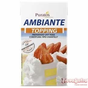 Chantilly Creme Ambiante Topping Puratos 1 litro