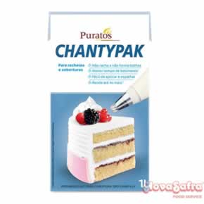 Chantilly Creme Chantypak Puratos 1 litro