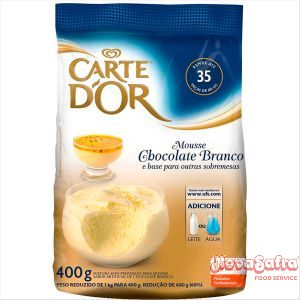 Mousse de Chocolate Branco Carte D
