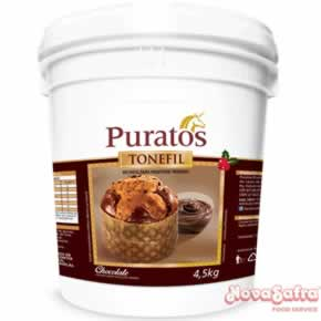 Recheio de Chocolate para Panetone Tonefil Bucket Puratos 4,5 kg