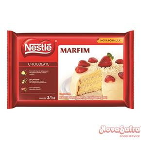 Chocolate Branco Marfim Nestlé Food 2,1 Kg