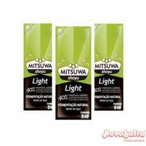 Molho Shoyu Light Sachet Mitsuwa 250x8 ml