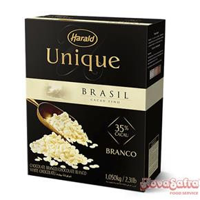 Chocolate Branco Gotas Harald Unique 1,05 kg