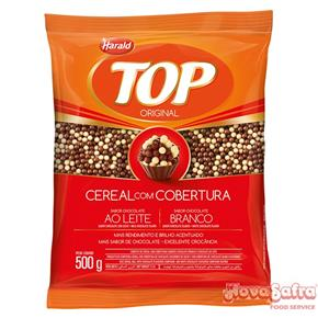 Cereal Ball Chocolate Ao Leite e Chocolate Branco Top Harald 500 g