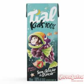 Suco de Uva 100% Kids Tial 24X200 ml