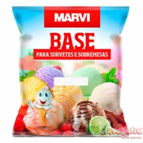 Base para Sorvete Nata Especial Marvi 1 kg