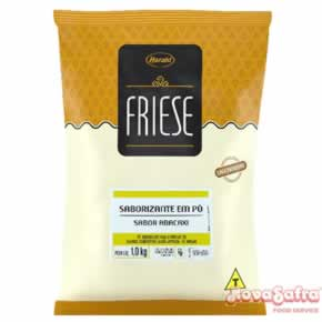 Base Para Sorvete Abacaxi Friese 1 Kg