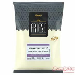 Base para Sorvete Chocolate com Avelã Friese 800 g
